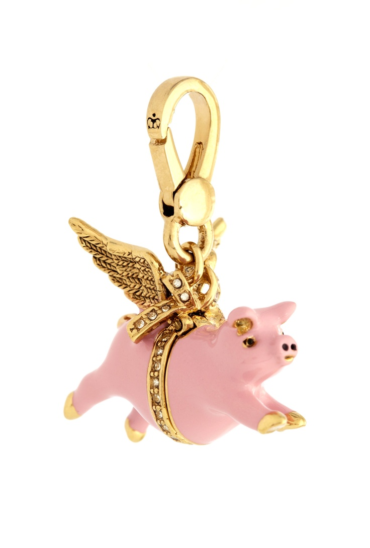 Flying Pig Charm By Juicy Couture Accessories