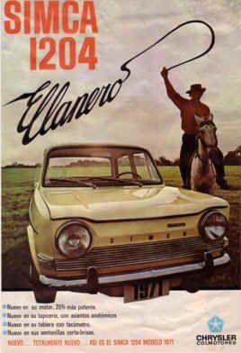 SIMCA 1204 (Colombie)