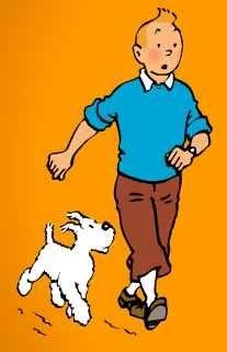Tintin and Milu