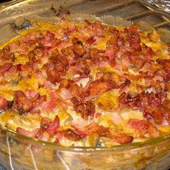 Fredag den 27/9 - 2013, Kycklinggryta i ugnen med bacon och champinjoner
