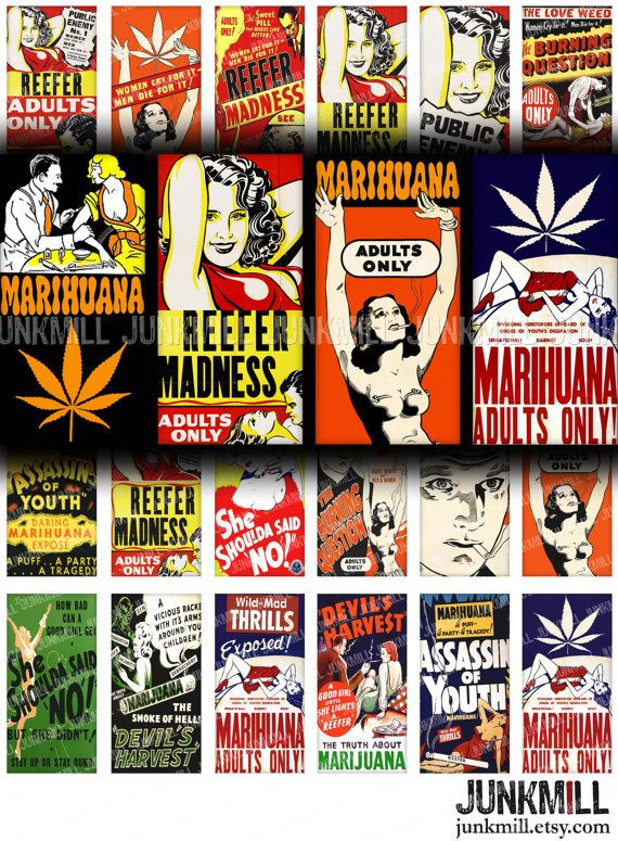 thesis of reefer madness