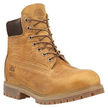 Timberland - Boots Heritage Classic 6-inch Homme - Wheat Burnished