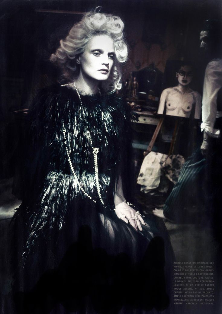 Vogue Itália March 2014 | Guinevere van Seenus by Paolo Roversi #fashion #editorial
