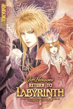 Return to Labyrinth manga. So pretty!