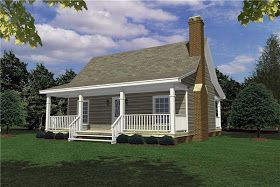 Hi Carl,  We were told we could build a 800 sq ft second home on our property and were wondering... READ MORE       COOL House Plan ID: c...