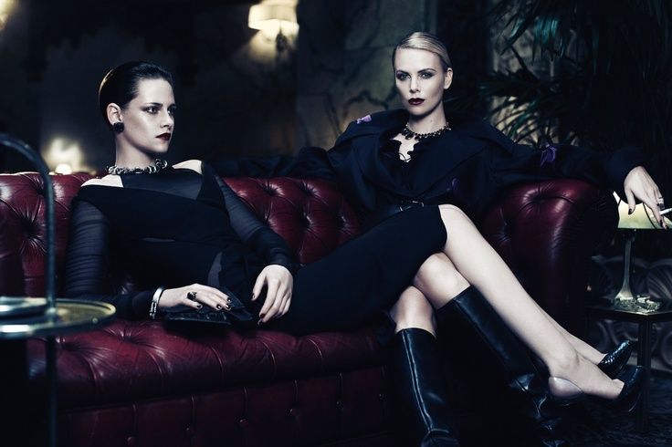 Interview: Charlize Theron and Kristen Stewart. To read the story click on the picture above.