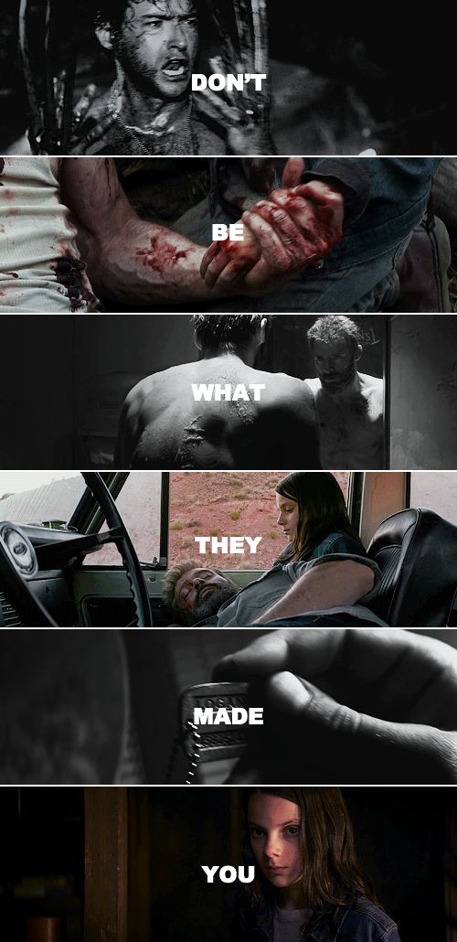 """""""There's no living with a killing. There's no going back from it. Right or wrong, it's a brand, a brand that sticks. There's no going back.""""    #logan"""