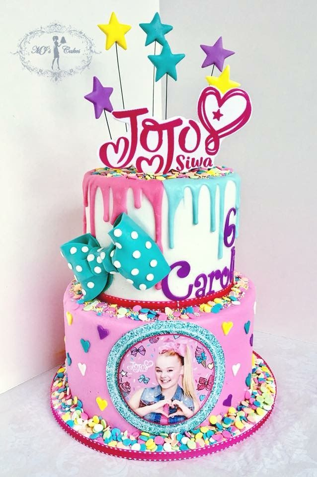 JoJo Siwa Themed Birthday Cake