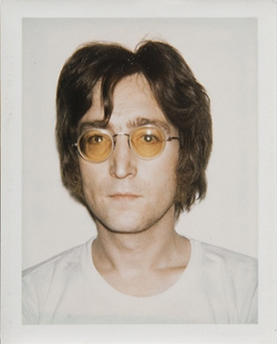 Andy Warhol: Polaroid of John Lennon.
