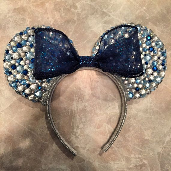Disneyland 60th Anniversary Minnie Mouse Ears by MouseketeerEars