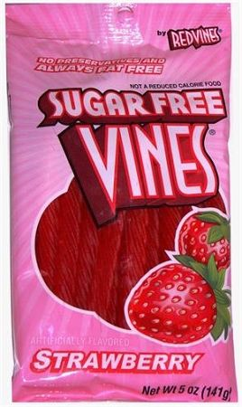 Sugar Free Red Vines Strawberry Licorice Twists