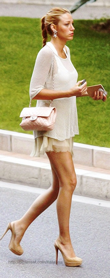Street style - Blake Lively - Chanel