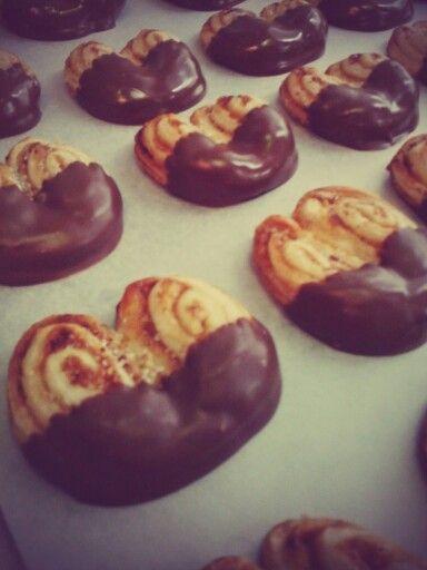 Corazon de chocolata