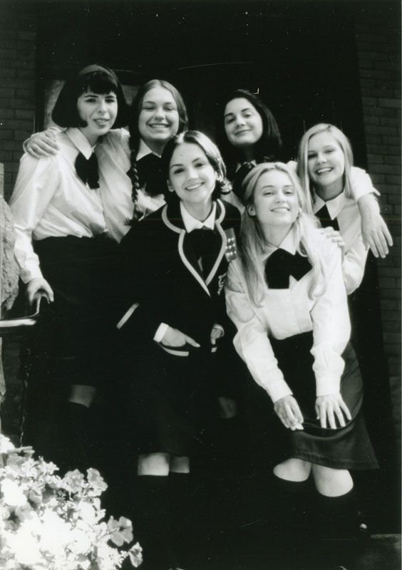 "Rachael Leigh Cook, Kirsten Dunst, Gaby Hoffmann, Heather Matarazzo, Monica Keena, Merritt Wever - Strike! 1998 (aka ""All I want to do"")"