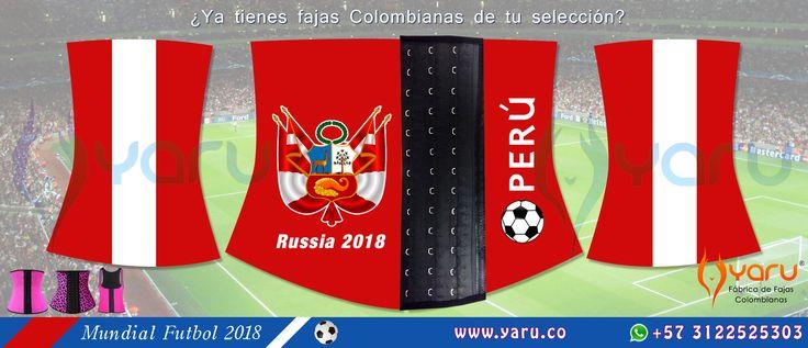 YARU Fabrica Fajas Colombianas Rusia 2018 Mundial Futbol Web: www.yaru.co Whatsapp: +57 3122525303 Colombian waisttrainer, servicio de maquilado y exportación de fajas de latex y ropa deportiva en supplex.