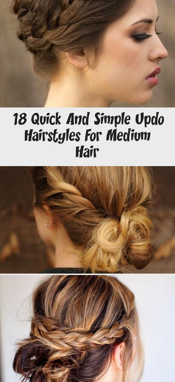 Cute Messy Bun Updos - Casual Everyday Hairstyle Ideas for ...