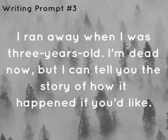 Writing prompt #3    Ideas, inspiration and resources for teaching GCSE English    www.gcse-english.com   