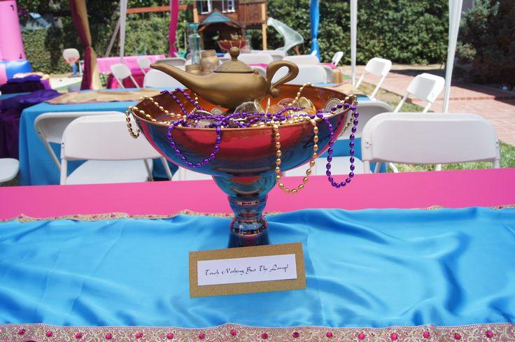 Kasandra's Princess Jasmine Arabian themed party