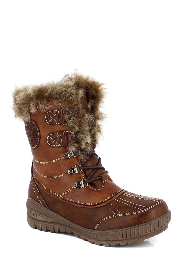 Kimberfeel Snow-Boots Sahra, gefüttert, braun Jetzt bestellen unter: https://mode.ladendirekt.de/damen/schuhe/boots/snowboots/?uid=77773f78-7e3c-5453-af60-a63f39664af0&utm_source=pinterest&utm_medium=pin&utm_campaign=boards #snowboots #boots #schuhe #bekleidung Bild Quelle: brands4friends.de