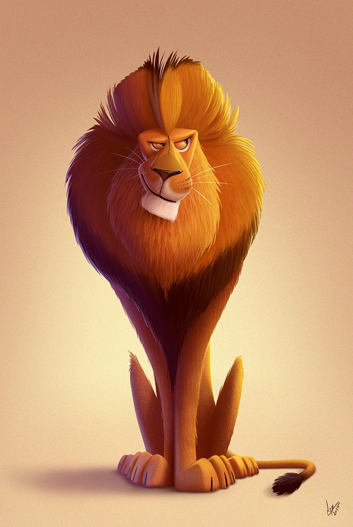 ArtStation - animal character design, Eran Alboher