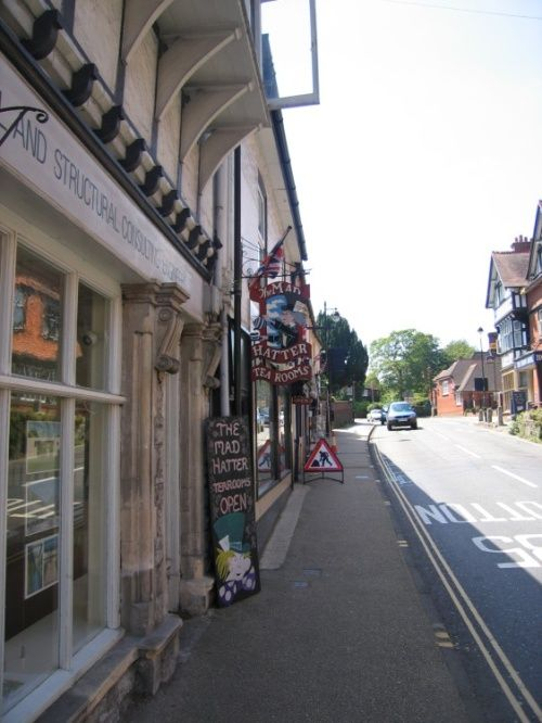 Lyndhurst, Hampshire. The Mad Hatter Tea Rooms