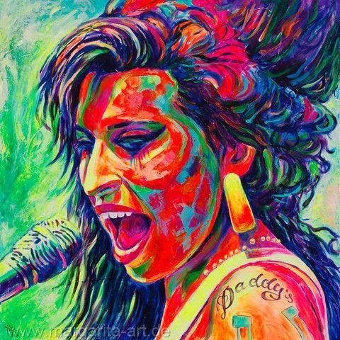 Margarita Kriebitzsch - Amy Winehouse - Soul Legende | KUNST-ONLINE