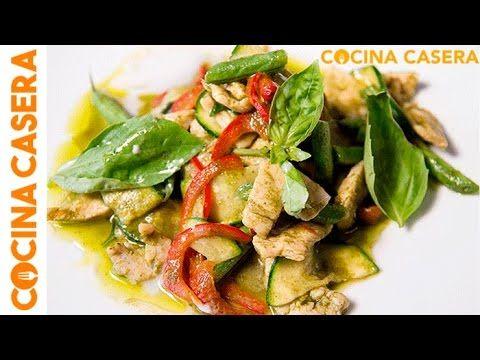 Curry verde de pollo con Cooking Chef de Kenwood - Recetas de Cocina Casera - Recetas fáciles y sencillas