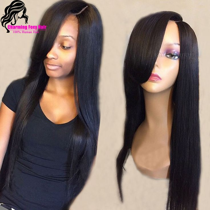 Cheap hair salon furniture sale, Buy Quality wig hair band directly from China wig Suppliers:    Wavy Virgin Human Hair Brazilian Full Lace Wig 150 Density With Bangs Glueless Lace Front Wig For Black Women with Ba