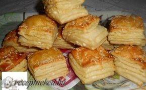 Réteges túrós pogácsa recept fotóval