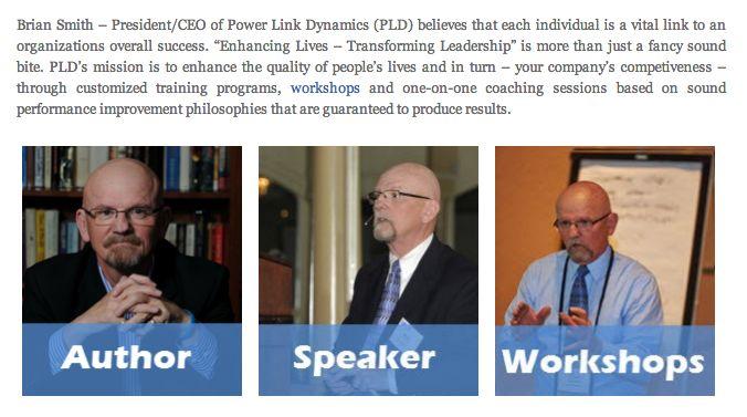 Brian Smith PMI National Capital PM Symposium Workshop Speaker