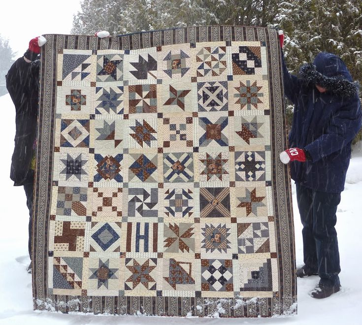 Kathy's Quilts: Civil War Quilt ~ Barbara Brachman's Civil War Sampler quilt made by Kathy, finished 2014