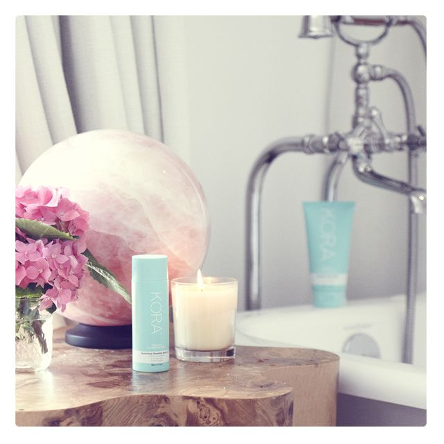 Make your bathroom a natural haven and fill it with certified organic skincare that feeds your skin with the nutrients it needs. xxx #KORAOrganics #KORAOrganicsLifestyle
