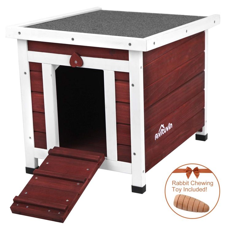 Aivituvin Wooden Dog Cat House Outdoor And Indoor Feral Pet Houses For Cats Insulated Outdoor Cat House Cat House Outdoor Dog House