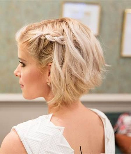 20 Updos for Bob Hairstyles