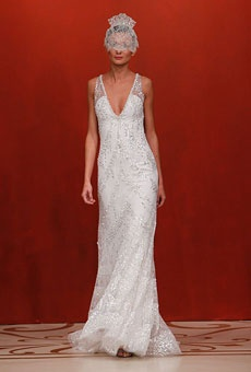Brides: Beaded Wedding Dresses: A New Kind of Sparkle | Wedding Dresses and Style | Brides.com