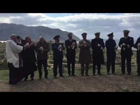 Τιμή και μνήμη στους νεκρούς του ORIA με την απελευθέρωση λευκών περιστε...