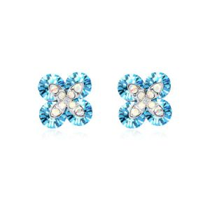 Austrian crystal earrings made with Swarovski elements