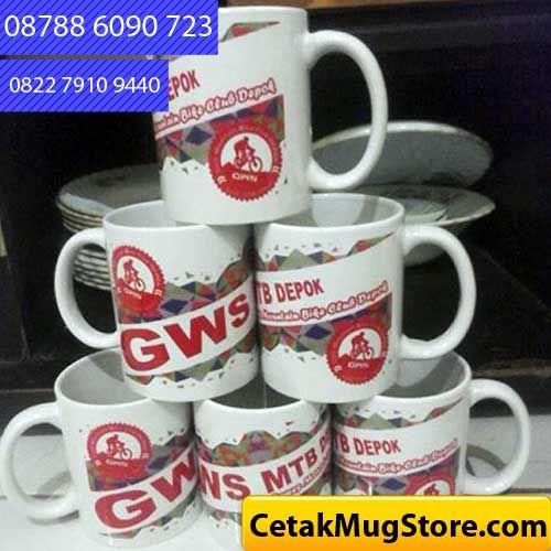 Mug Souvenir Murah Komunitas GWS MTB Depok