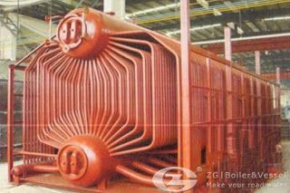 Industry boiler: Water tube boiler operation