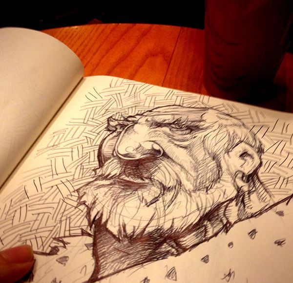 Coffee & Sketches 2014 winter on Behance