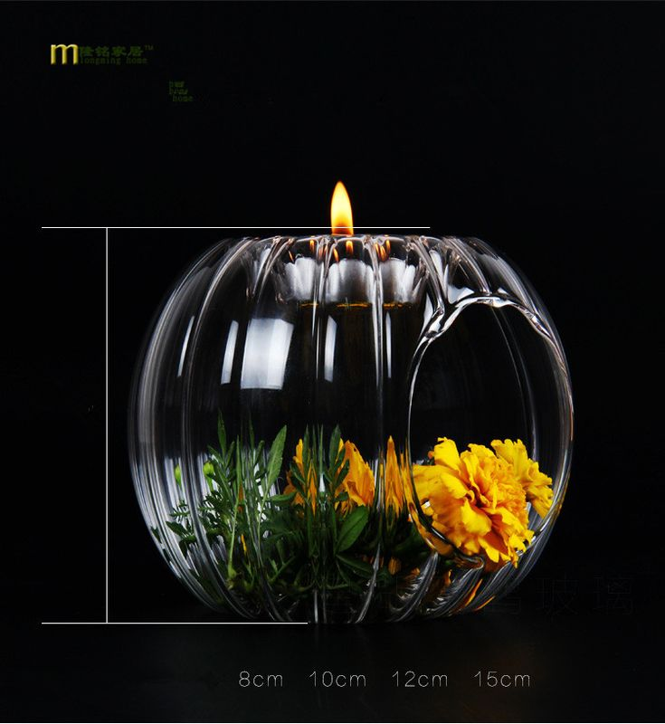How to Discount 8% Sale Price US $5.51 1PC Glass Pumpkin candle holders home decoration vintage crystal candestick party candlestand party wedding decor LD 156 the recession with one hand tied behind your back #Candles#Holders