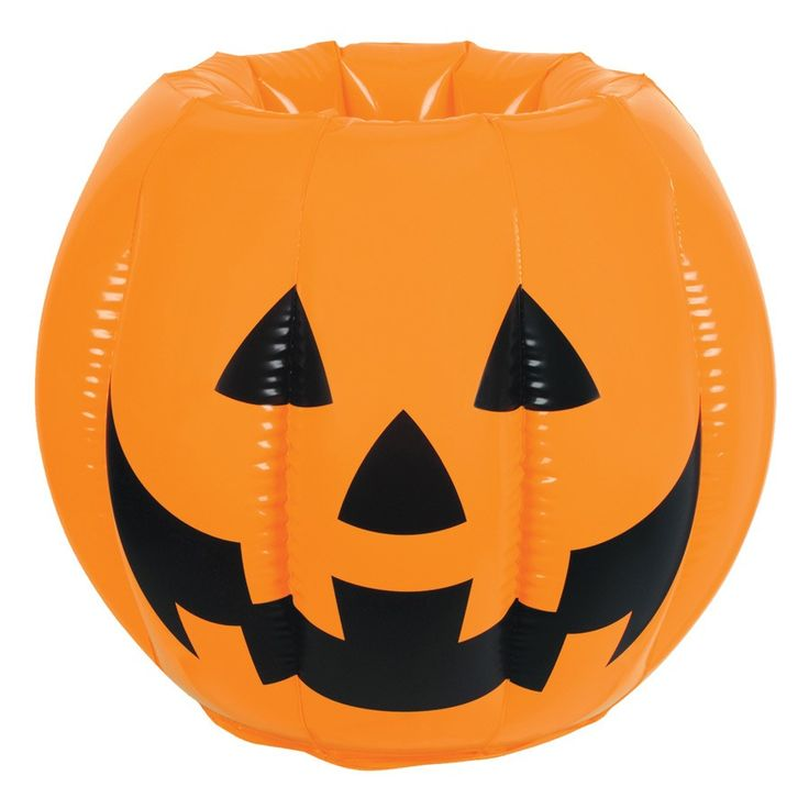 inflatable jack o lantern halloween drinks party cooler