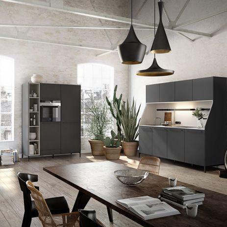 wohnküche | Trend: offene Küche verbindet Kochen und Wohnen | Hansgrohe DE