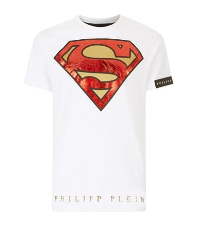 philipp plein superman logo t shirt philippplein cloth philipp plein men pinterest. Black Bedroom Furniture Sets. Home Design Ideas