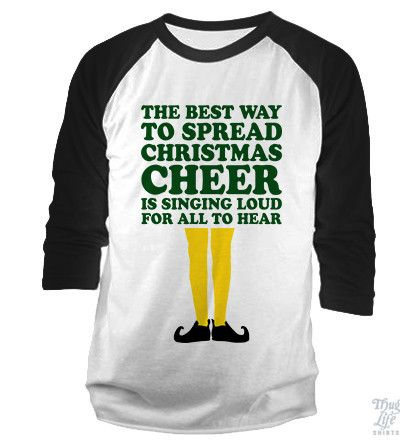nike air force 1 shoes black The Best Way To Spread Christmas Cheer Baseball Shirt | Cheer, Elf and Christmas