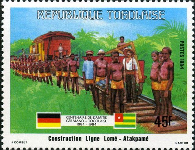 La Marcophilie navale : 1914 La guerre au Togo vue par un sous-officier allemand