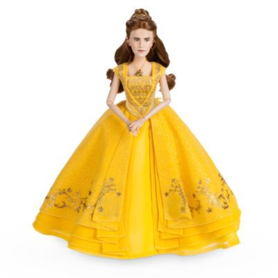 Turn the playroom into an enchanted castle starring this delightful Belle doll. With exceptional character likeness from live-action film, Beauty and the Beast, the posable doll also wears a highly detailed outfit.
