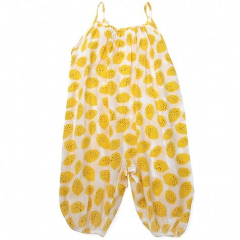 overall (lemons crepe) by bobo choses, sold at Sweet William