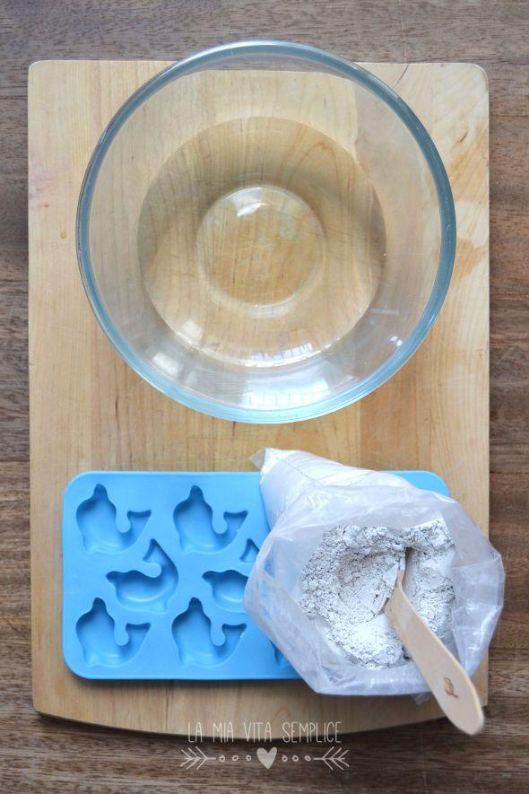 Come fare i gessetti profumati fai da te agli oli essenziali per profumare cassetti, armadi e piccoli ambienti.