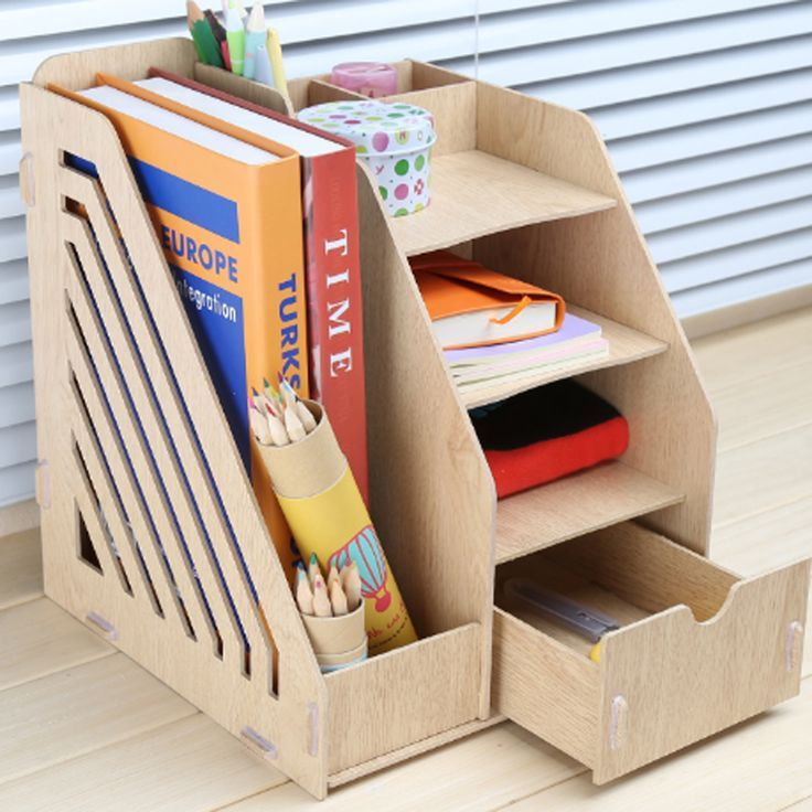 10 Diy Desk Organizer Ideas With Images Desk Organization Diy Home Office Decor Decor Project